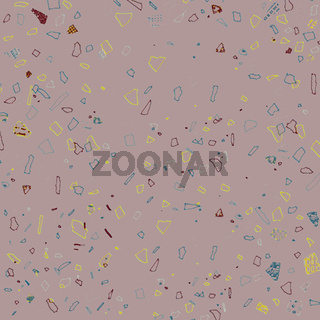 Background image with small multi-colored abstract pattern