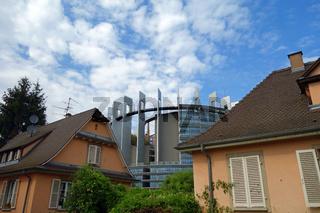 Parlamentsgebäude in Straßburg