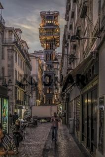 Lissabon 5 - Rua de Santa Justa
