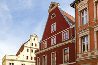 house with gable, Stralsund, Germany
