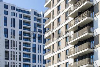 Zwei Hochhäuser in Frankfurt