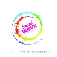 Sound wave spiral form. Vector illustration on white background
