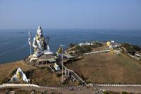 Shiva's statue. India. Murdeshvar.