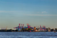 Container Harbor Hamburg