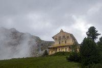 Schachenhütte in den bayerischen Alpen