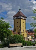 City of Reutlingen, Germany, tower of the Tübinger Tor