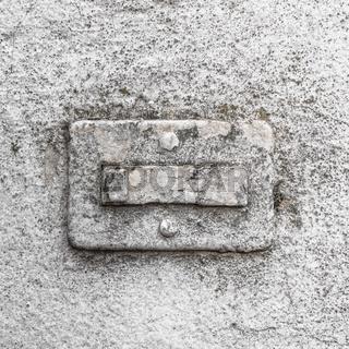 Broken doorbell