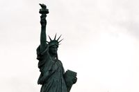 Copy of the Statue of Liberty