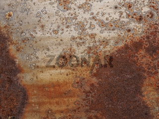 Rusty metal texture background