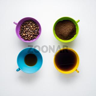 Coffee variations.