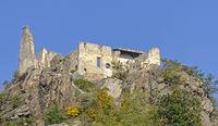 Ruin of castle above Duernstein