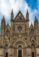 The Cathedral of Orvieto (Duomo di Orvieto), Umbria, Italy