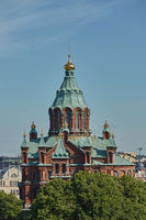 Uspenski Cathedral, an Eastern Orthodox cathedral in Helsinki, Finland