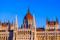 Parliament in Budapest Hungary