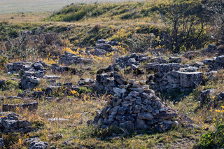 Old archaeological excavations abandoned