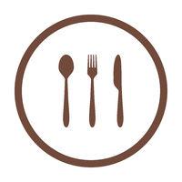 Besteck und Kreis - Cutlery and circle