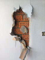 repair in the home. Removing the coating dry plaster (drywall Soviet times, typical of the houses of