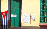 CUBA- FEBRUARY 04, 2013: Polling station