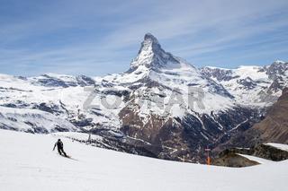 Matterhorn Skiing Area, Swiss Alps