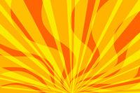 yellow fire pop art background