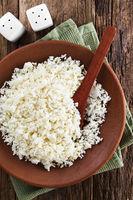 Raw Cauliflower Rice