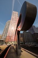 The Red Apple residential building in Rotterdam