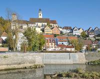 Horb am Neckar in Black Forest,Baden Wuerttemberg,Germany