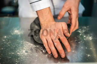 Pasta making process
