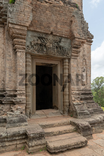 Entrance to stone temple at Pre Rup
