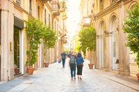 Narrow street  in Milan