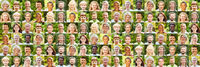 Panorama aktive Gesellschaft Portrait Collage