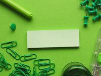 Green office utensils