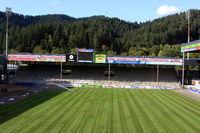 SC Freiburg - Neuer Rollrasen im Schwarzwaldstadion