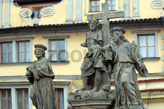 Steinskulpturen in Prag