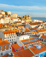Cityscape Lisbon Old Town, Portugal
