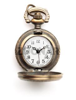 Vintage bronze women's pendant watch