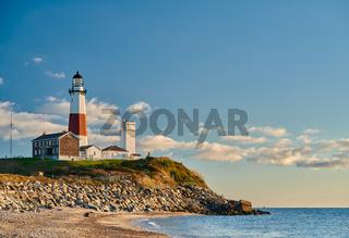 Montauk Lighthouse and beach