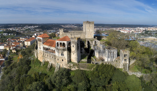 Medieval Castle in Leiria Portugal