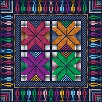Palestinian embroidery pattern 130