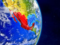 Mexico on Earth with networks