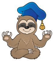 Sloth teacher theme image 1