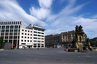 Roßmarkt und Johannes-Gutenberg-Denkmal Frankfurt