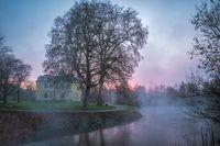 Villa Erckens on the river Erft.