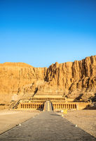 View of Queen Hatshepsut