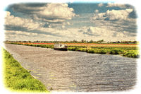 Houseboat on the Irrigation Canal