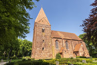 church, Kirchdorf, Poel island, Mecklenburg-Western Pomerania, Germany, Europe