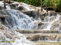 Falls at Dunns River Jamaica