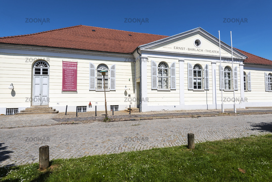 Ernst Barlach theatre, Guestrow, Mecklenburg-Western Pomerania, Germany, Europe