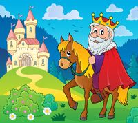 King on horse theme image 5