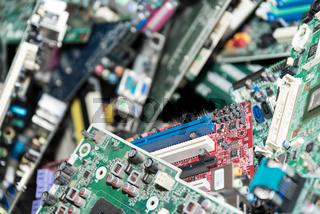 Motherboardsammlung unterschiedlicher Typen - IT-Technologie Mainboard